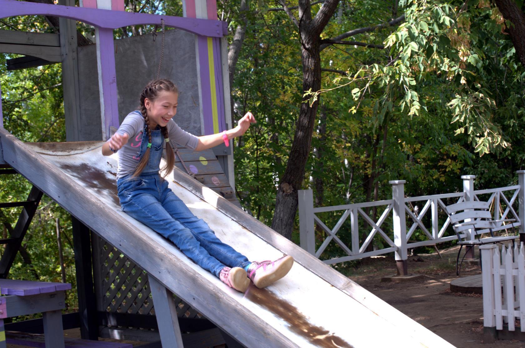 Детские площадки на природе в Балаково